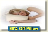 Click for Memory Foam Pillow Sale
